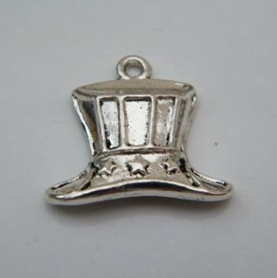American Hat Keyring - Charm Style